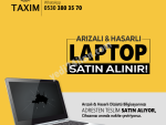 Arızalı, Hasarlı ve Hurda Laptop Satın Alınır